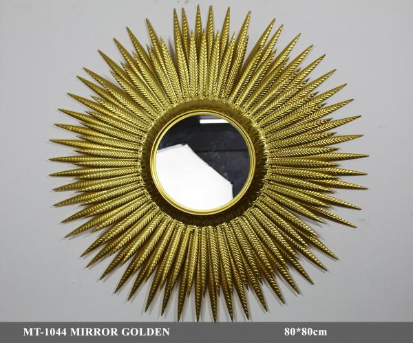 MT-1044 MIRROR GOLDEN